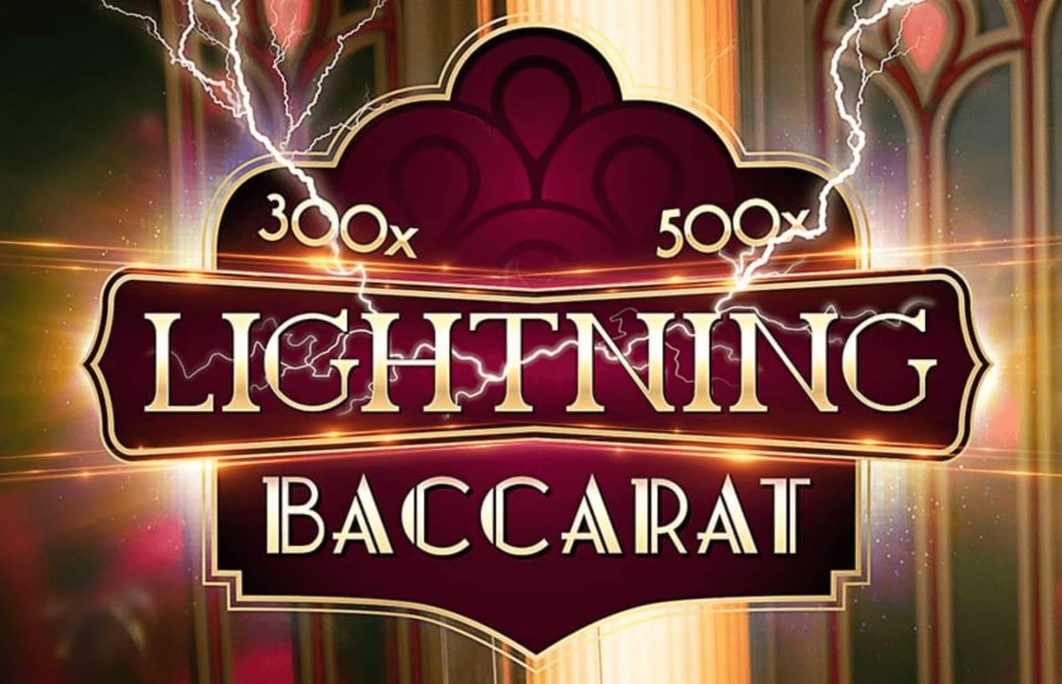 Live Lightning Baccarat