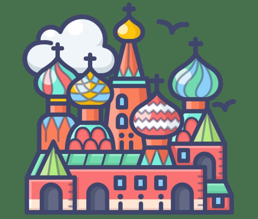 Parhaat 67 Live Casino -peliä luokassa Venäjä 2021