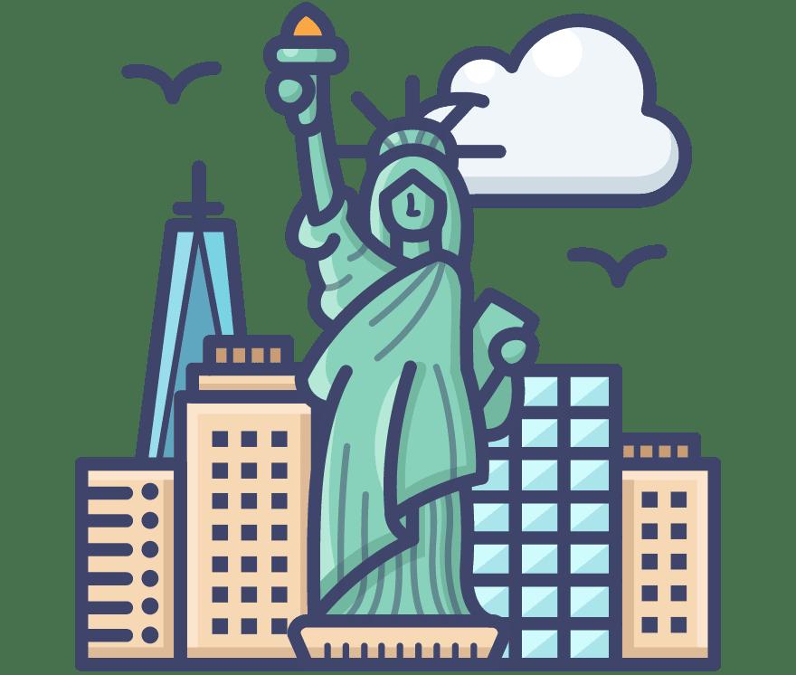 Parhaat 16 Live casino -peliä luokassa Yhdysvallat 2021