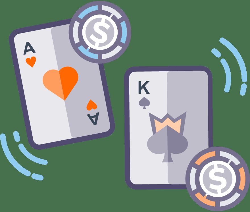 Pelaa Casino War verkossa -Suosituimmat 8 eniten maksavaa Live Casinoä 2021